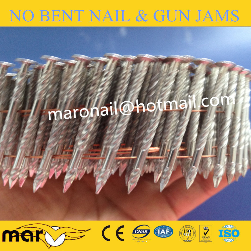 Hot-Dipped Galvanized Coil Nail